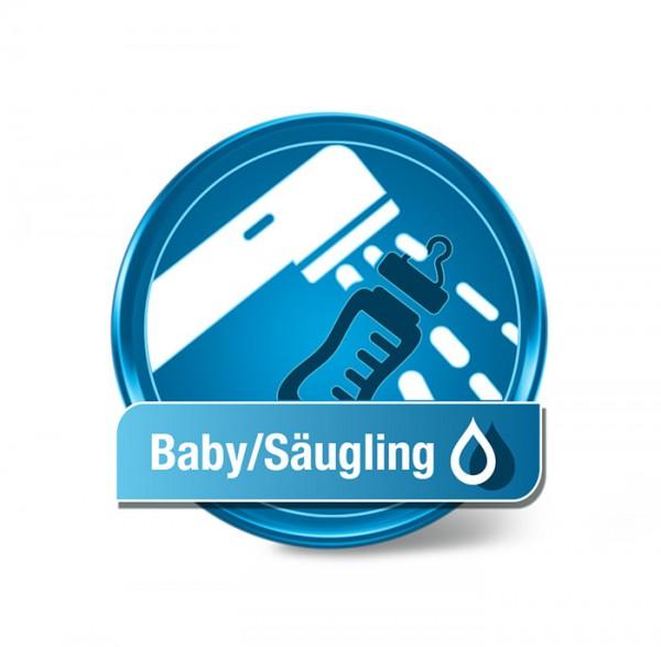 Trinkwasseranalyse Baby