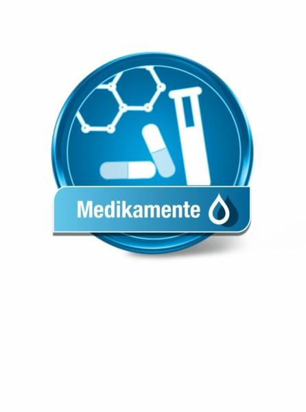 Wassertest Medikamente